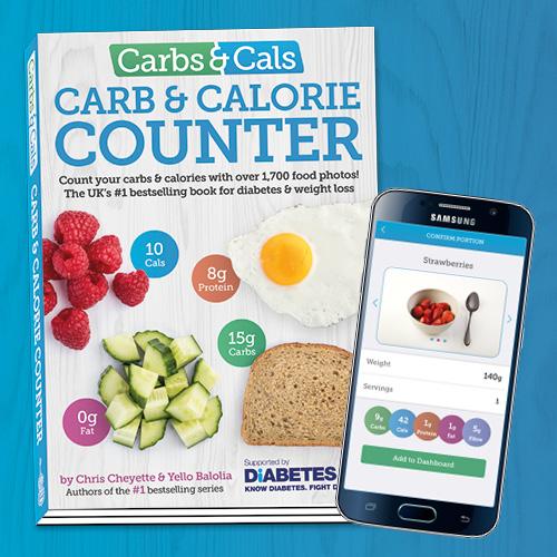 Carbs & Cals Book & App